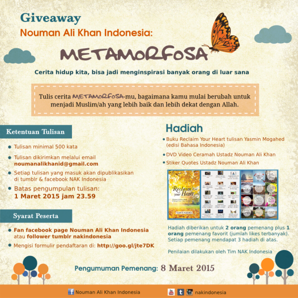 poster Giveaway NAK Indonesia
